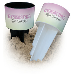 Gymnastics with Name/Text Beach Spiker Drink Holder (Personalized)