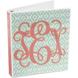 Monogram 3-Ring Binder (Personalized)