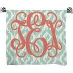 Monogram Full Print Bath Towel (Personalized)
