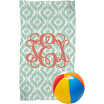 Monogram Beach Towel (Personalized)