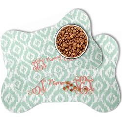 Monogram Bone Shaped Dog Food Mat (Personalized)