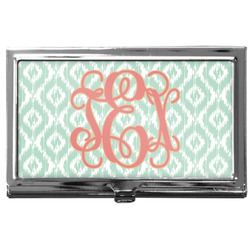 Monogram Business Card Case