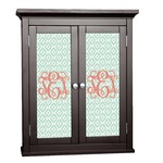 Monogram Cabinet Decal - Custom Size (Personalized)
