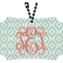 Monogram Rear View Mirror Ornament (Personalized)