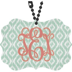 Monogram Rear View Mirror Charm (Personalized)