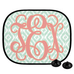 Monogram Car Side Window Sun Shade (Personalized)