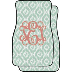 Monogram Car Floor Mats (Front Seat) (Personalized)