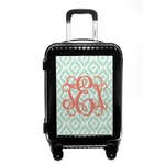 Monogram Carry On Hard Shell Suitcase (Personalized)
