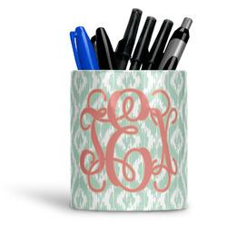Monogram Ceramic Pen Holder