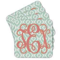 Monogram Cork Coaster - Set of 4