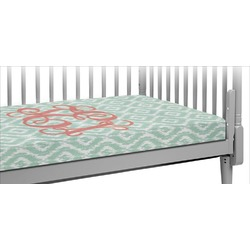 Monogram Crib Fitted Sheet (Personalized)
