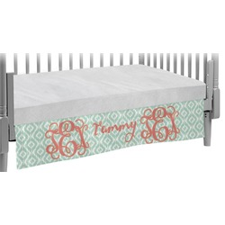 Monogram Crib Skirt (Personalized)