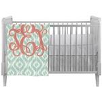 Monogram Crib Comforter / Quilt (Personalized)