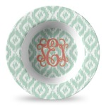 Monogram Plastic Bowl - Microwave Safe - Composite Polymer (Personalized)