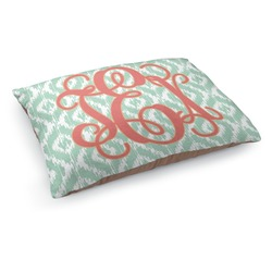 Monogram Dog Pillow Bed (Personalized)