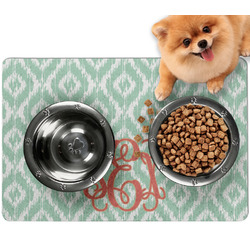 Monogram Dog Food Mat - Small
