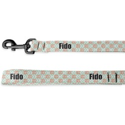Monogram Deluxe Dog Leash - 4 ft (Personalized)