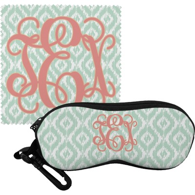 Monogram Eyeglass Case & Cloth (Personalized)