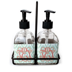 Monogram Soap/Lotion Dispensers (Glass) (Personalized)