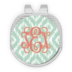 Monogram Golf Ball Marker - Hat Clip