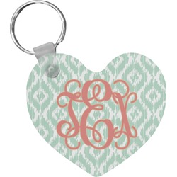 Monogram Heart Keychain (Personalized)