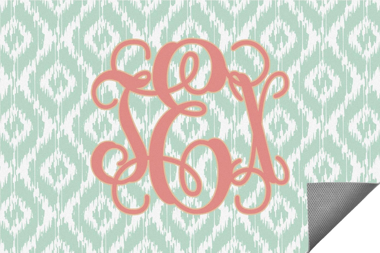 Monogram Indoor / Outdoor Rug (Personalized) - YouCustomizeIt