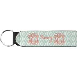 Monogram Neoprene Keychain Fob (Personalized)