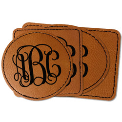 Monogram Faux Leather Iron On Patch
