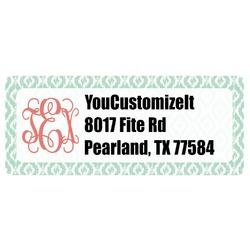 Monogram Return Address Labels (Personalized)