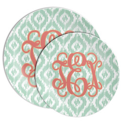 Monogram Melamine Plate (Personalized)