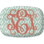Monogram Melamine Platter (Personalized)