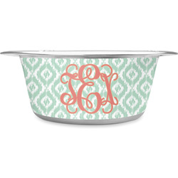 Monogram Stainless Steel Pet Bowl (Personalized)