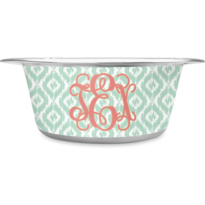 Monogram Stainless Steel Dog Bowl (Personalized)