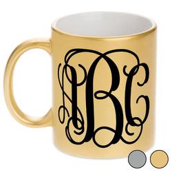 Monogram Metallic Mug