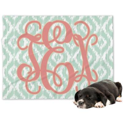 Monogram Dog Blanket (Personalized)