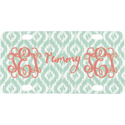 Monogram Mini / Bicycle License Plate (Personalized)