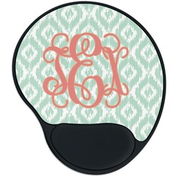 Monogram Mouse Pad with Wrist Support