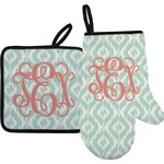 Monogram Oven Mitt & Pot Holder (Personalized)