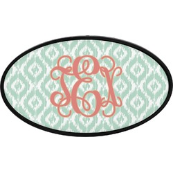 Monogram Oval Trailer Hitch Cover (Personalized)