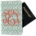 Monogram Passport Holder - Fabric (Personalized)
