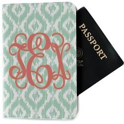 Monogram Passport Holder - Fabric (Personalized)