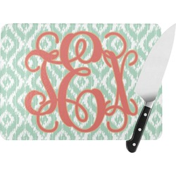 Monogram Rectangular Glass Cutting Board (Personalized)