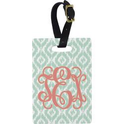 Monogram Rectangular Luggage Tag (Personalized)