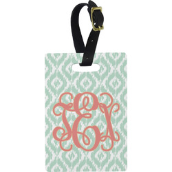 Monogram Rectangular Luggage Tag (Personalized)