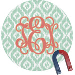 Monogram Round Magnet (Personalized)