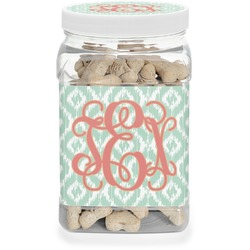 Monogram Pet Treat Jar (Personalized)