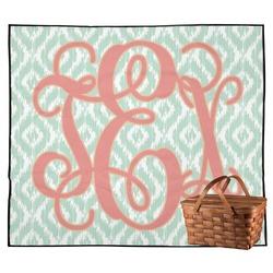 Monogram Outdoor Picnic Blanket (Personalized)