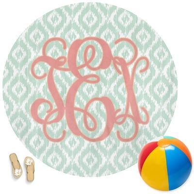 Monogram Round Beach Towel (Personalized)