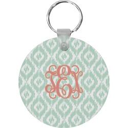Monogram Round Keychain (Personalized)
