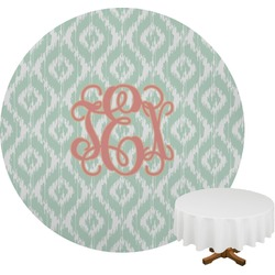 Monogram Round Tablecloth (Personalized)